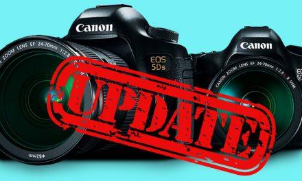 Canon veröffentlicht Firmware-Updates für EOS 5DS und EOS 5DS R