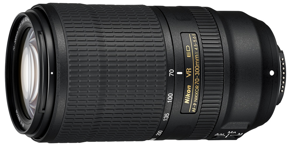 Nikon präsentiert Telezoom AF-P NIKKOR 70–300 mm 1:4,5-5,6E ED VR