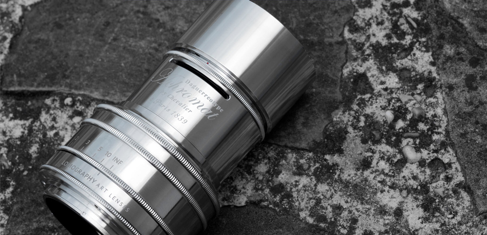 Lomography präsentiert Daguerreotype Achromat Art Lens Chrome Plated Edition