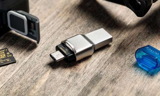 Kingston bringt ultra-kompaktes microSD-Kartenlesegerät MobileLite Duo 3C