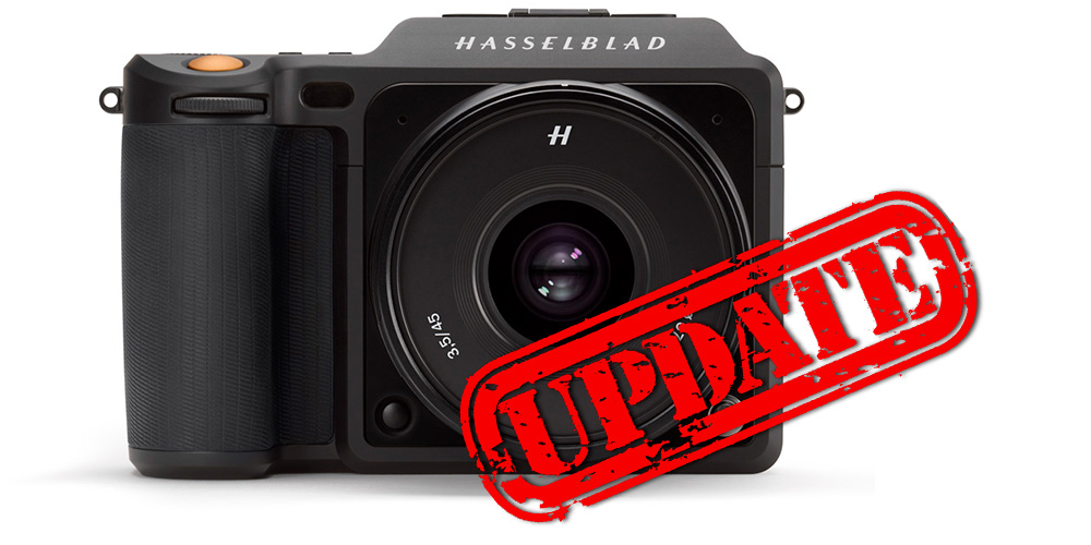 Firmware-Update für Hasselblad X1D-50c bringt Stromversorgung via USB und mehr