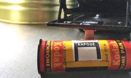Kamera von 1929 gefunden und Film entwickelt