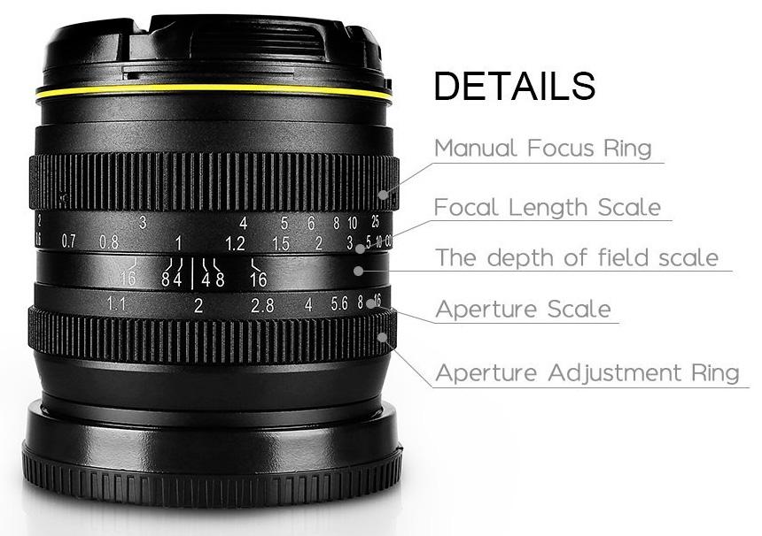 Kamlan 50mm Details