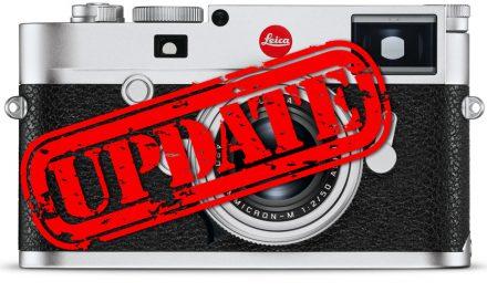 Leica M10 Firmware-Update