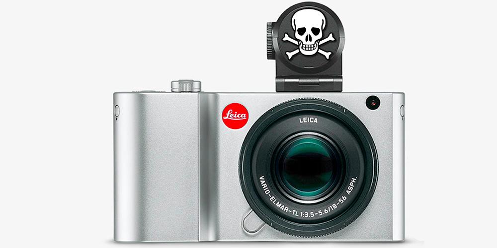 Achtung! Leica TL2 nicht mit Visoflex-Sucher verwenden! – Problem behoben
