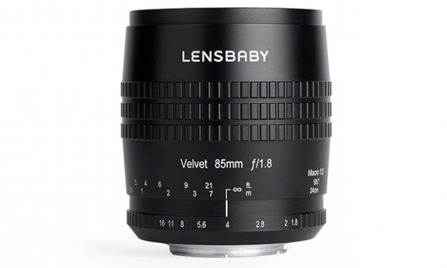 Lensbaby präsentiert Teleobjektiv Velvet 85 mm f/1.8 SLR