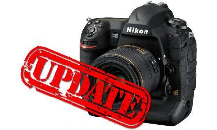 Nikon bringt Firmware-Updates für D5 und weitere Modelle