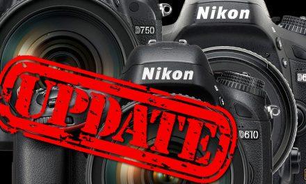 Nikon veröffentlicht neue Firmware für D750, D610 und D600