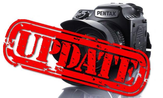 Neue Firmware für Pentax 645Z veröffentlicht