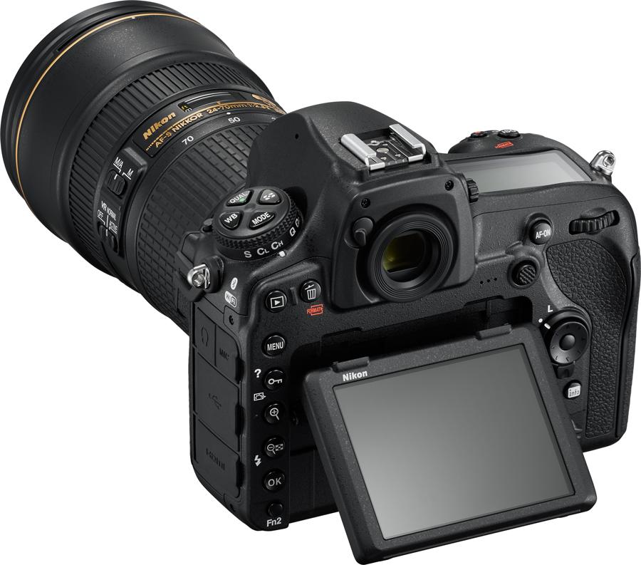 Nikon D850 24-70E Display