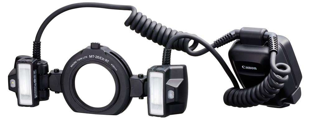 Canon präsentiert Blitzgerät Macro Twin Lite MT-26EX-RT