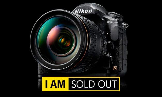 Nikon D850 bereits ausverkauft?