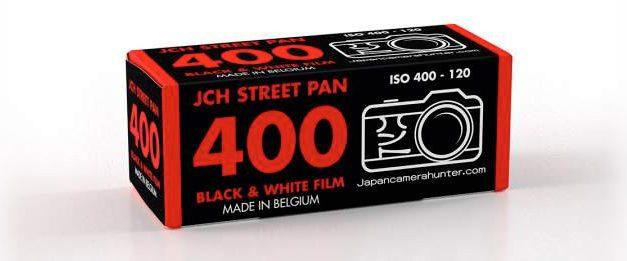 Japan Camera Hunter Street 400 bald auch als Rollfilm erhältlich