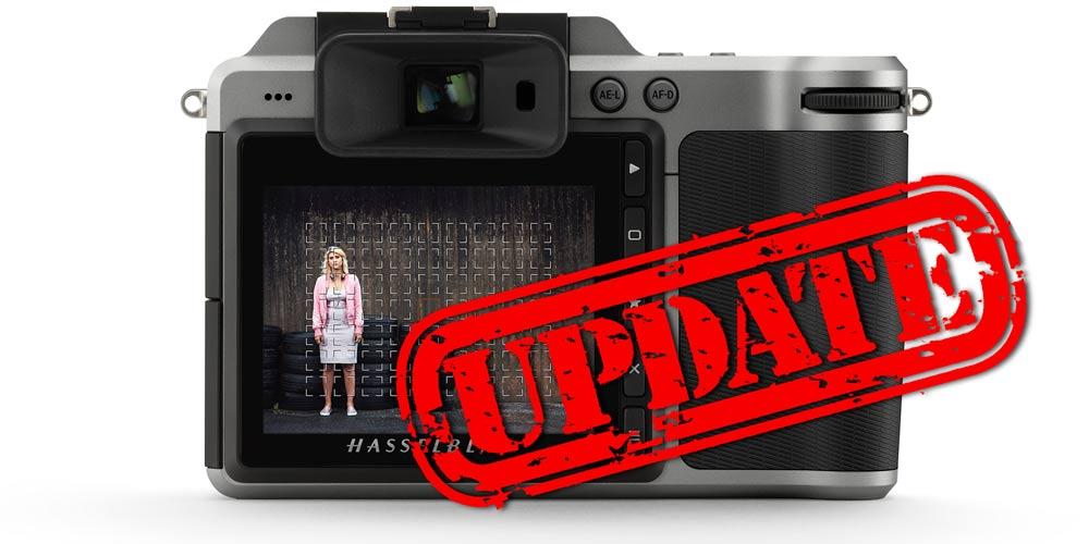 Firmware-Update: Hasselblad X1D erhält variable AF-Felder und elektronischen Verschluss