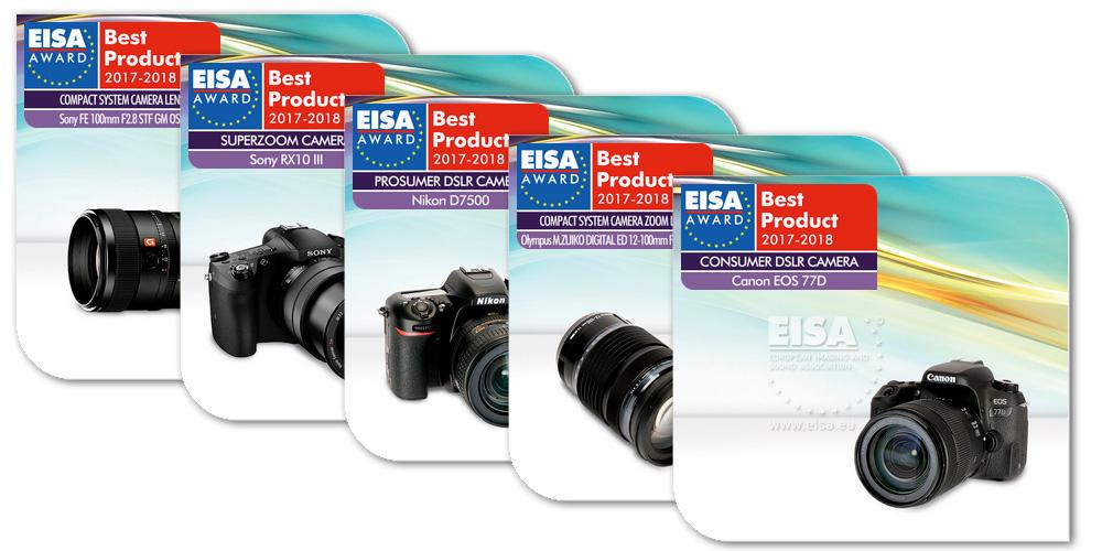 EISA Awards 2017-2018 vergeben