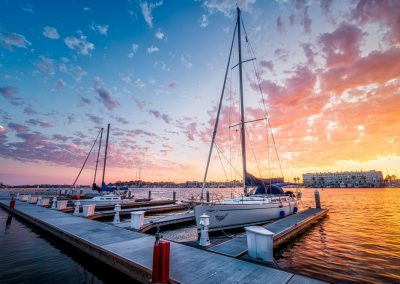 Alik Griffin Marina Del Rey Sunset After