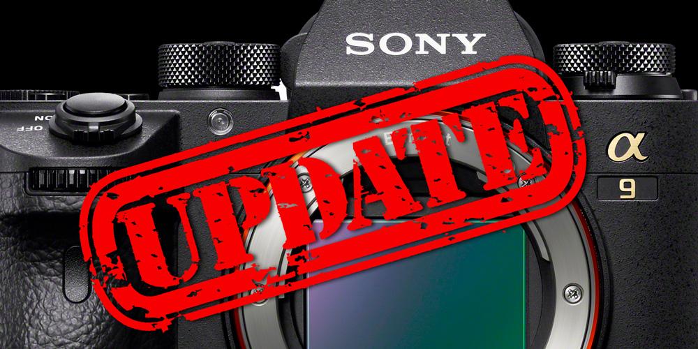 Sony veröffentlicht umfassendes Firmware-Update für Alpha 9