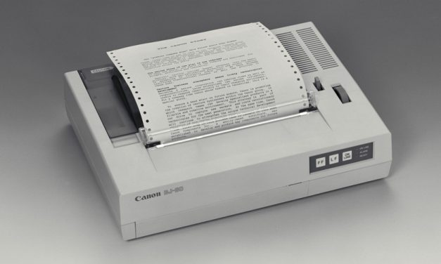 Canon feiert 40 Jahre Tintenstrahldrucker