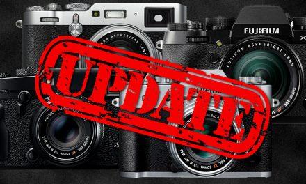 Fujifilm veröffentlicht Firmware-Updates für X-T2, X-T20 und GFX 50S