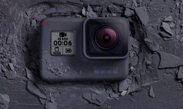 Neues von GoPro: Actioncam Hero6 Black und VR-Kamera Fusion