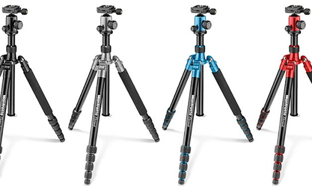 "Manfrotto präsentiert Reisestative ""Element"""
