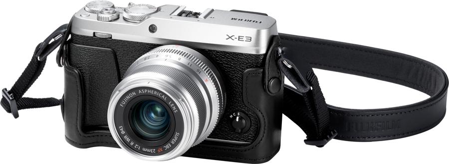 X-E3 Silver FrontObl+XF23mmF2_SV+BLC-XE3