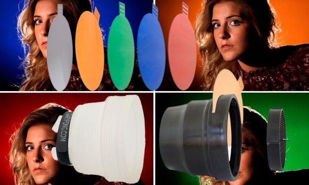 Gary Fong bringt Spotlichtaufsatz und Farbfilter für Systemblitze
