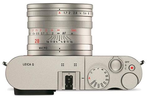 Leica Q silver top