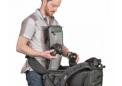 MindShift Gear BackLight 36L rückenseitiger Zugriff