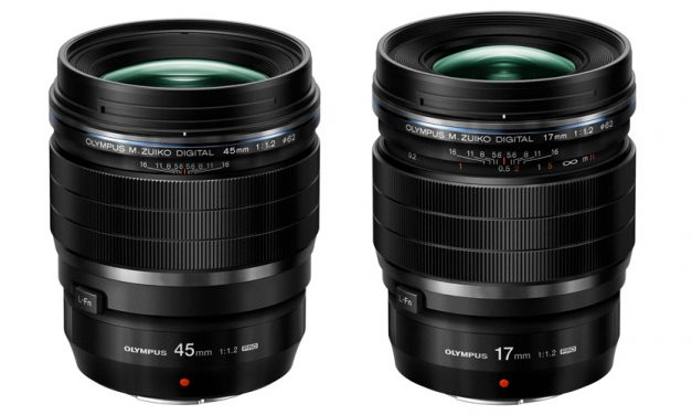 Neue Objektive von Olympus: ED 17 mm 1:1.2 PRO und ED 45 mm 1:1.2 PRO