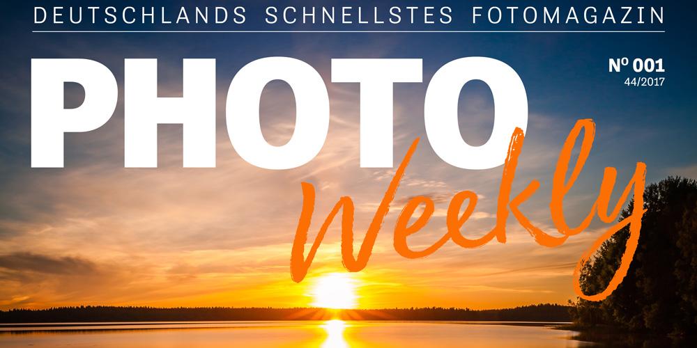 PhotoWeekly: Deutschlands schnellstes Fotomagazin startet heute (aktualisiert)