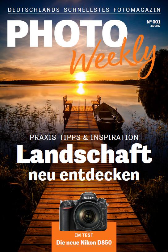 PhotoWeekly Titelblatt Nr 001