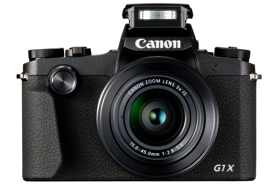 PowerShot G1 X Mark III Front Flash Up