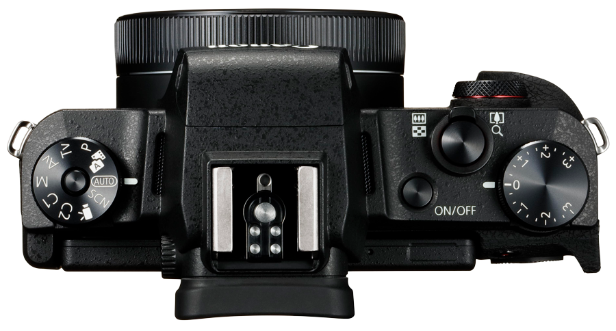 PowerShot G1 X Mark III Top Lens Folded