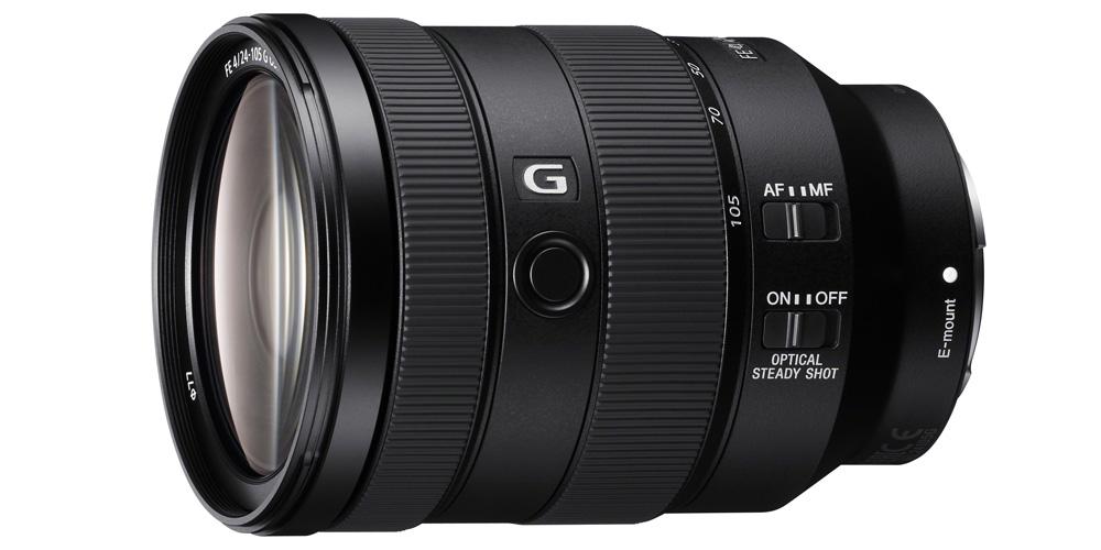 Sony präsentiert Standardzoom FE 24-105 mm F4 G OSS