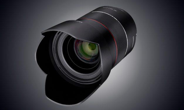 Neu für Sony E: Samyang AF 35mm F1.4 FE