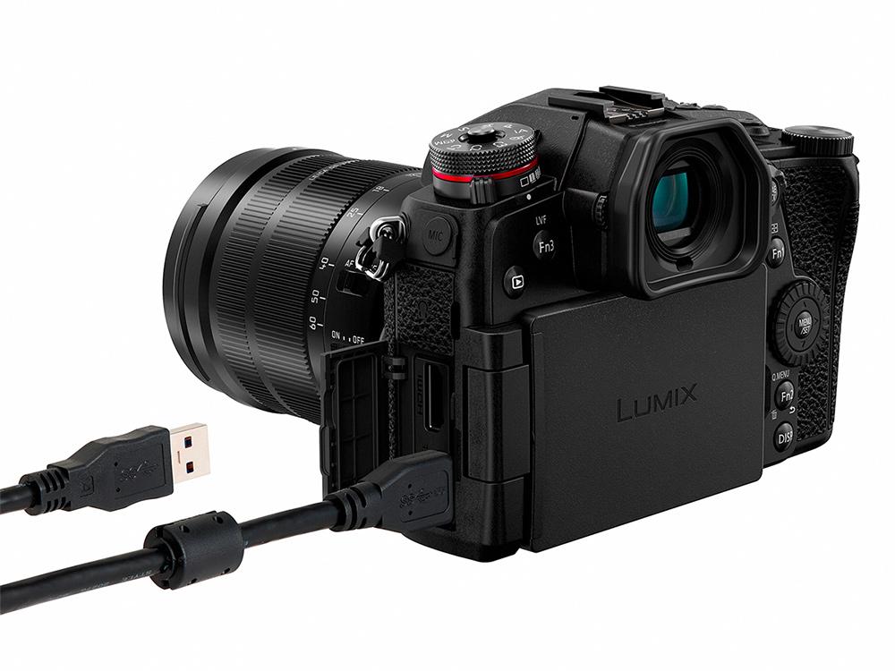 Lumix G9 USB-Anschluss