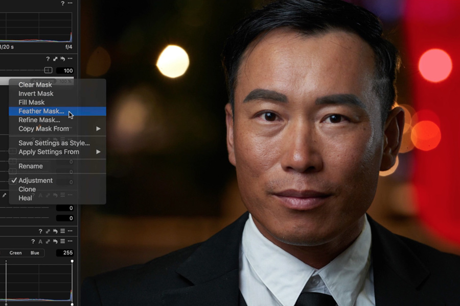 Capture One 11 Masken
