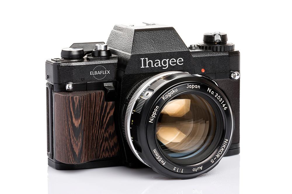 Ihagee Dresden Elbaflex Camera 01