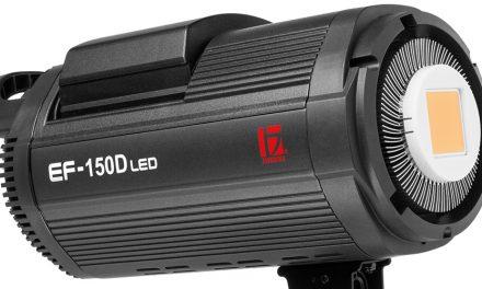 Jinbei präsentiert Dauerlicht EF-150D LED mit 150 Watt und Akkubetrieb