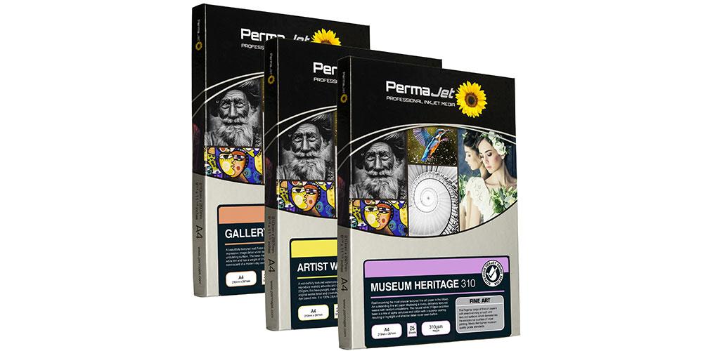 Permajet präsentiert neue Fine-Art-Papiere für Kunstdrucke