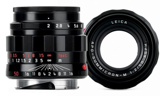Leica legt APO-Summicron-M 1:2/50 ASPH. als LHSA-Sonderedition auf