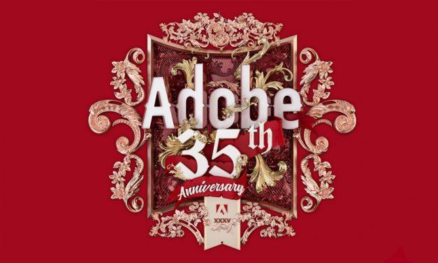 Herzlichen Glückwunsch: Adobe wird 35