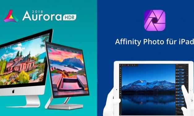 Apple kürt App des Jahres: Aurora HDR 2018 und Affinity Photo für iPad ausgezeichnet
