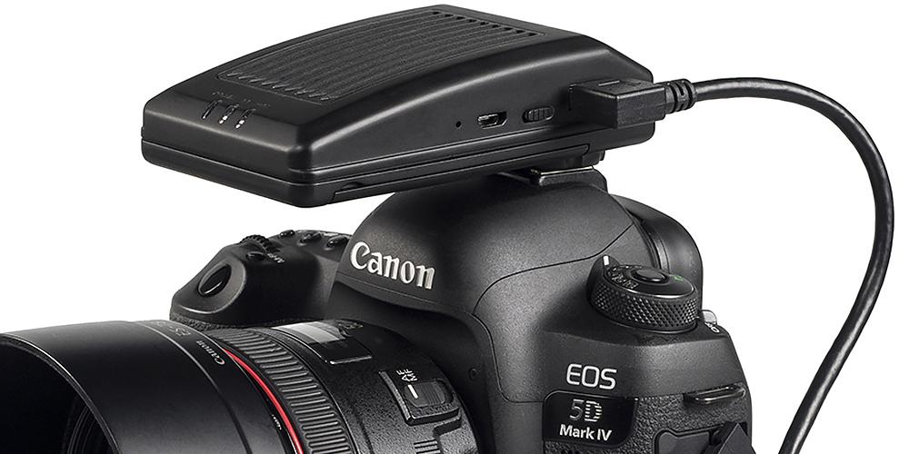 CamFi Pro: Drahtlose Datenübertragung für Canon, Nikon und Sony
