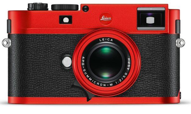Leica bringt M (Typ 262) als Sondermodell in Rot