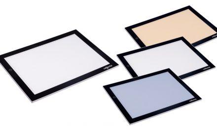 Reflecta bringt Leuchtplatte A4+ mit LED-Licht