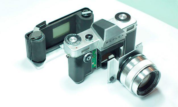 Reflex: analoge SLR bald auch mit Digital-Rückteil?