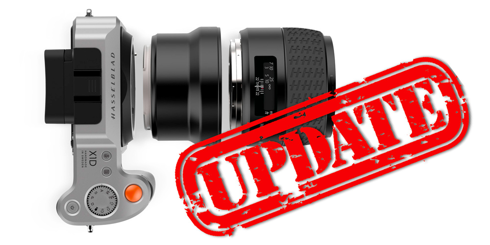 Für X1D: Hasselblad veröffentlicht Firmware 1.20