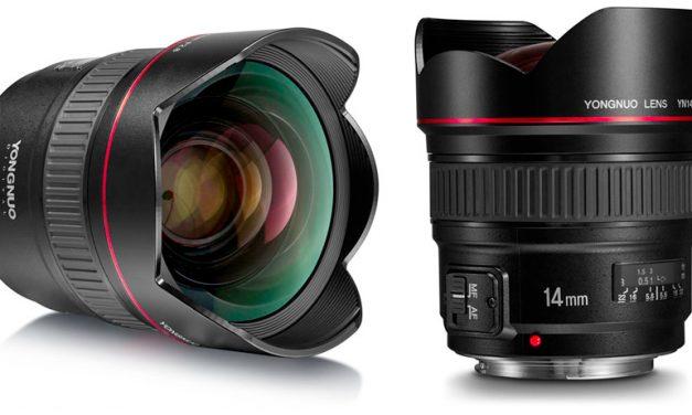 Yongnuo stellt Superweitwinkel YN 14mm F/2.8 für Canon vor